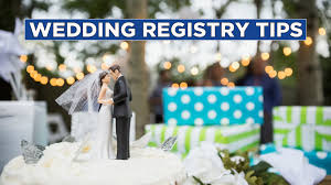 wedding regsitry wedding registry tips food network