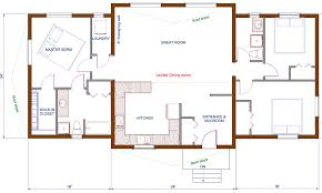 3 Bedroom Open Floor House Plans Ranch Home Plan Front View 3 Bedroom Ranch House Back Basic Ranch