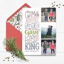 non denominational custom name photo holiday card last name