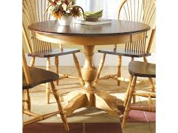 custom dining room table canadel custom dining customizable round table with pedestal