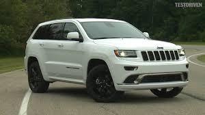 white jeep hood 2016 jeep grand cherokee high altitude driving youtube