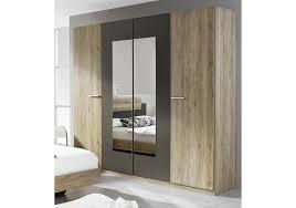 schlafzimmer set mit bett 180 x 200 cm eiche sanremo hell woody 33