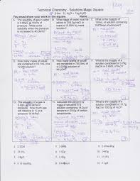 Chemistry Review Worksheet Answers Neuman Dina Ch 15 Solutions