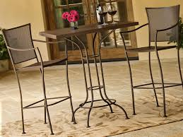 Wrought Iron Patio Furniture Set by Wrought Iron Tall Patio Chairs U2013 Outdoor Decorations