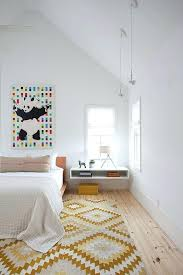 scandinavian color scandinavian bedroom colours wall art and chic rug add color and