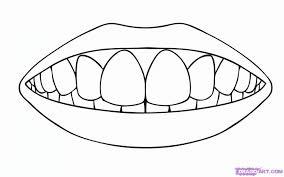 tooth coloring pages teeth happy sad fingerplay dental seasonal