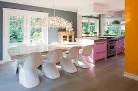 glass counter height table kitchen contemporary with breakfast bar