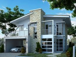 two story home designs two storey modern house designs homecrack