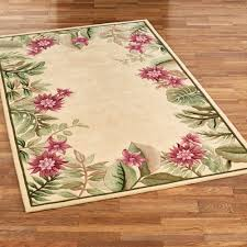 Tropical Home Decor Accessories by Tropical Haven Floral Area Rugs