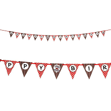 halloween flag banner sock monkey party supplies birthdayexpress com