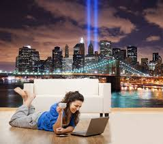 adhesive new york lights decorating photo wall mural wallpaper self adhesive new york lights decorating photo wall mural wallpaper peel and stick art 500
