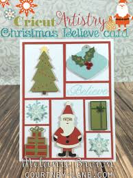 courtney lane designs cricut artistry everything christmas card