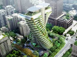 taiwan u0027s smog eating twisting tower will feature luxury apartments