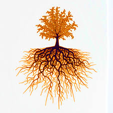 decal for glass gold metallic black tree of high