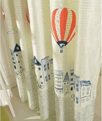 Balloon Curtains For Bedroom by Cartoon Balloon Window Curtains For Kids Room Korean Style Living