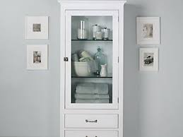 White Tall Bathroom Cabinet With Drawers Tidy Up Every Bathroom - Tall bathroom linen cabinet white