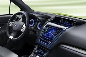 subaru crosstrek interior 2018 subaru xv concept is a high riding impreza crossover