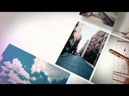 after effects template photo slideshow 3d ii youtube digital