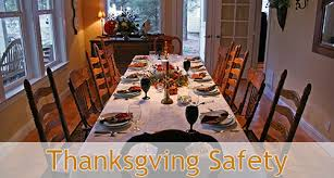 thanksgiving safety for 4 safety program
