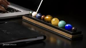 Desk Accessory Deskspace Handcrafted Solar System Desk Accessory Indiegogo