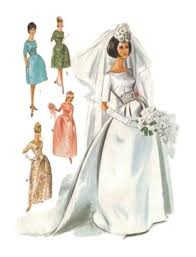 wedding dress pattern 1963 wedding dress picture of and sewing bridal