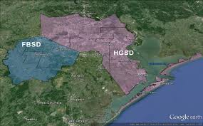 Galveston Island Map What Is Land Subsidence San Jacinto River Authority