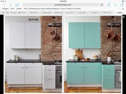 Rental Kitchen Makeover - easy and cheap rental kitchen interesting contact paper for