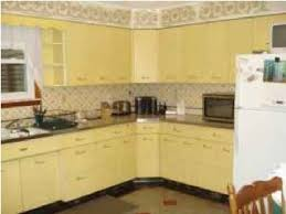 yellow kitchens antique yellow kitchen yellow geneva metal kitchen cabinets vintage metal metal