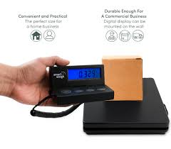 smart weigh usps 110lb x 0 1oz portable lcd digital shipping