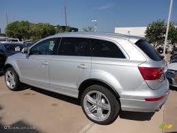 Audi Q7 2013 - ice silver metallic 2013 audi q7 3 0 s line quattro exterior photo