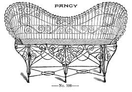 Vintage Brown Jordan Patio Furniture - garden furniture vintage image graphicsfairy3bw the graphics fairy