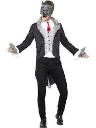 big bad wolf costume mens halloween fancy dress deluxe