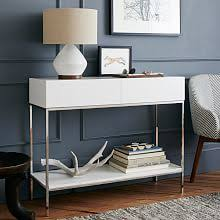Contemporary Console Table Contemporary Console Tables West Elm