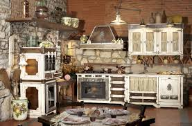 kitchen design rustic country kitchen design with interior stone