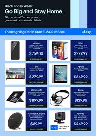 B Om El Discount Ebay Black Friday 2017 Ads Deals And Sales