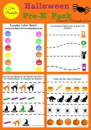 free preschool printable worksheets halloween do a dot printables