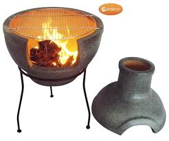 Paint For Chiminea Cozumel Bbq 2 Part Chiminea Large In Granite Chimineashop Co Uk