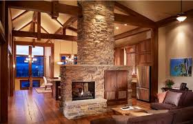 Fireplaces In Homes - mountain home fireplaces vertical arts