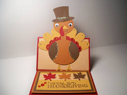 card creations more by c thanksgiving card turkey easel card