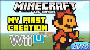 Super Mario Bros 3 Maps My First Creation On Minecraft Wii U Edition