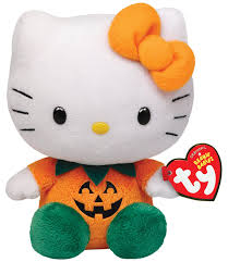 Halloween Kitty by Amazon Com Ty Beanie Babies Hello Kitty Pumpkin Toys U0026 Games