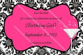 birthday invitation templates save the date birthday invitations