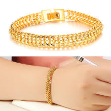 gold bracelet woman images Fate love classic casual fashion charm gold color chain woman jpg