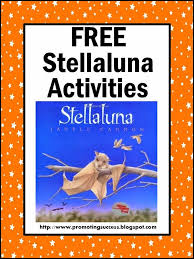 stellaluna activities character and book study with literacy