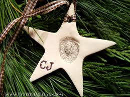 make your own cherished children u0027s fingerprint ornaments from clay