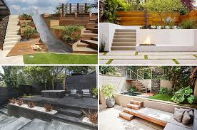 backyard architecture 13 multi level backyards to get you inspired for a summer backyard