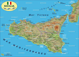 Map Of Italy And Sicily by Map Of Sicily Italy Map In The Atlas Of The World World Atlas