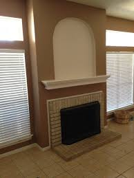 fireplace bookshelf conversion in allen handyman and home