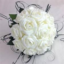 Silk Bridal Bouquet Silk Flower Bouquets
