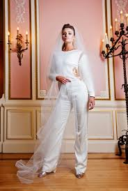 wedding dress jumpsuit bridal jumpsuit priscilla costa wedding dress designer